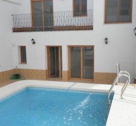 casa rural con piscina privada en almagro